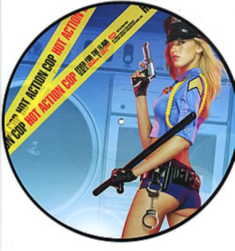 """Hot Action Cop Fever For The Flava 12"""" vinyl picture disc 12inch picture disc record UK H/A2PFE254037"""