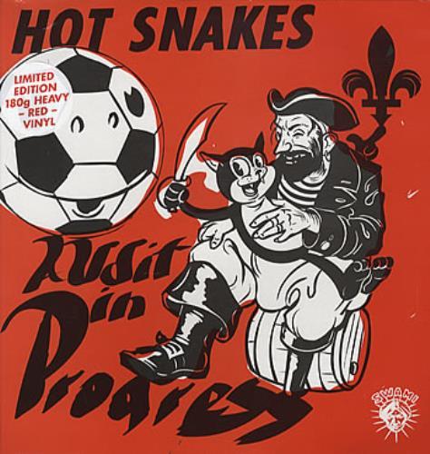 Hot Snakes Audit In Progress vinyl LP album (LP record) UK HSKLPAU304774