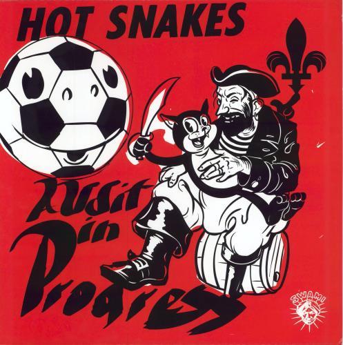 Hot Snakes Audit In Progress vinyl LP album (LP record) UK HSKLPAU324029