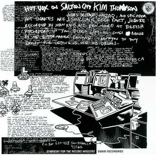 Hot Snakes Automatic Midnight vinyl LP album (LP record) UK HSKLPAU409224