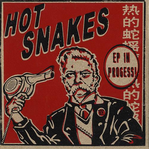 Hot Snakes EP In Progress! CD-R acetate US HSKCREP483918