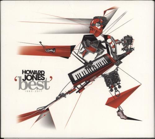 Howard Jones Best 1983 - 2017 3-CD album set (Triple CD) UK HOW3CBE771764