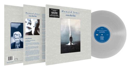 Howard Jones Cross That Line - 140 Gram Silver Vinyl - Sealed vinyl LP album (LP record) UK HOWLPCR753495