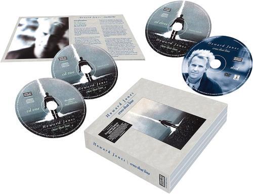 Howard Jones Cross That Line - Expanded Deluxe - Sealed 3-disc CD/DVD Set UK HOW3DCR753494