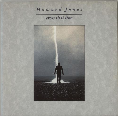 Howard Jones Cross That Line vinyl LP album (LP record) UK HOWLPCR251176