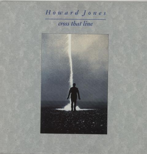 Howard Jones Cross That Line vinyl LP album (LP record) Australian HOWLPCR658784