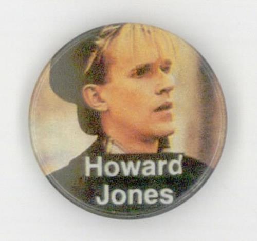 Howard Jones Howard Jones - wearing black cap badge UK HOWBGHO507977