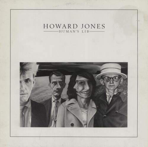 Howard Jones Human's Lib vinyl LP album (LP record) UK HOWLPHU459936