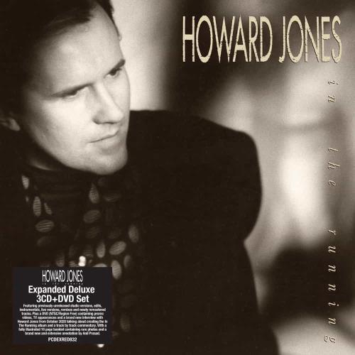 Howard Jones In The Running - Expanded Deluxe 3CD + DVD - Sealed 4-CD album set UK HOW4CIN770056