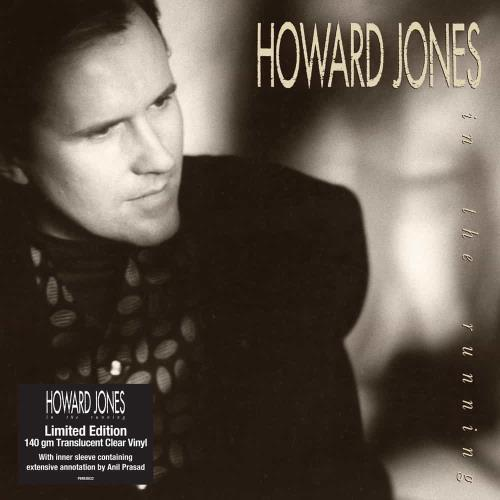 Howard Jones In The Running - Translucent Clear Vinyl - Sealed vinyl LP album (LP record) UK HOWLPIN768320