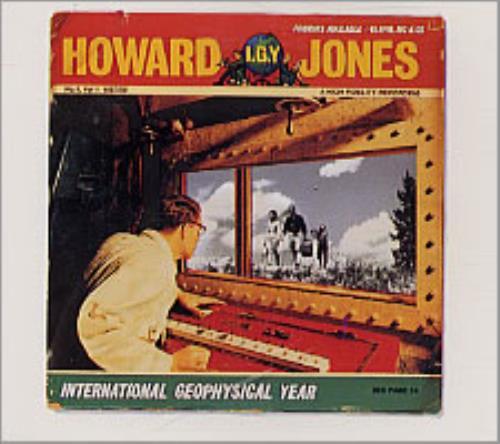 """Howard Jones International Geophysical Year CD single (CD5 / 5"""") German HOWC5IN17214"""