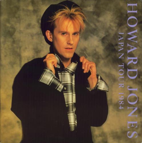 Howard Jones Japan Tour 1984 + Ticket Stub tour programme Japanese HOWTRJA768912