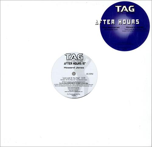 "Howard Jones Just Look At You Now 12"" vinyl single (12 inch record / Maxi-single) US HOW12JU464932"