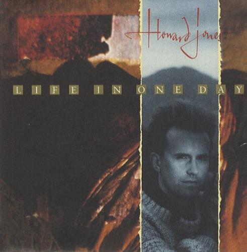 "Howard Jones Life In One Day - Poster Sleeve 7"" vinyl single (7 inch record) UK HOW07LI83770"