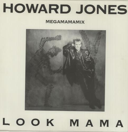 """Howard Jones Look Mama (Megamamamix) 12"""" vinyl single (12 inch record / Maxi-single) UK HOW12LO13048"""