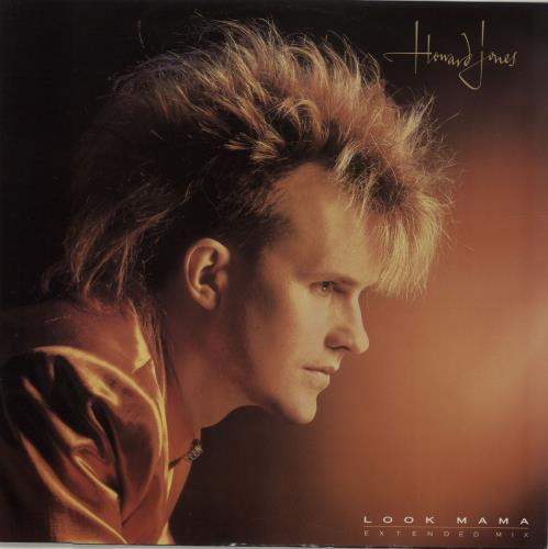 """Howard Jones Look Mama 12"""" vinyl single (12 inch record / Maxi-single) UK HOW12LO30914"""