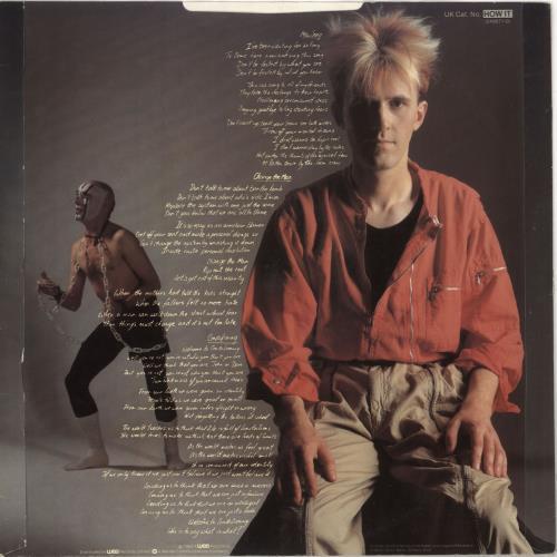 "Howard Jones New Song - Autographed 12"" vinyl single (12 inch record / Maxi-single) UK HOW12NE731534"