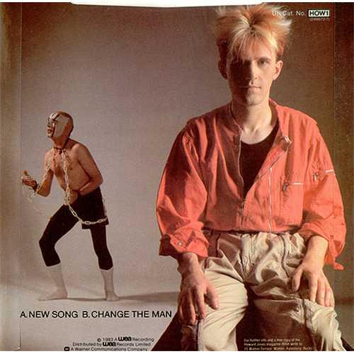 "Howard Jones New Song 7"" vinyl single (7 inch record) UK HOW07NE184506"