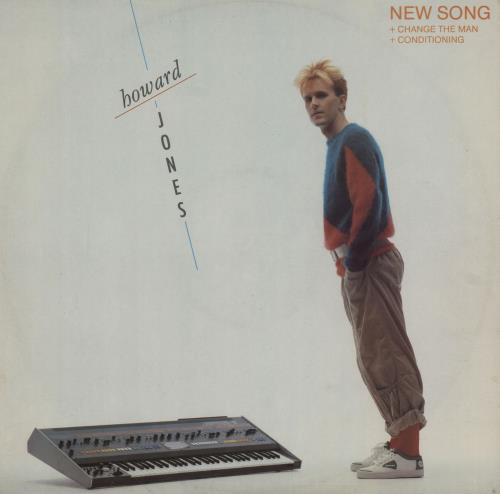"""Howard Jones New Song 12"""" vinyl single (12 inch record / Maxi-single) UK HOW12NE27954"""