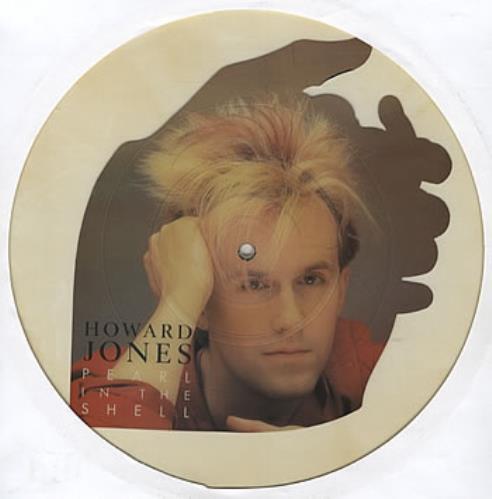 Howard Jones Pearl In The Shell uncut picture disc (vinyl) UK HOWUNPE206227