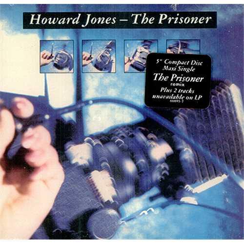 """Howard Jones The Prisoner CD single (CD5 / 5"""") US HOWC5TH104250"""
