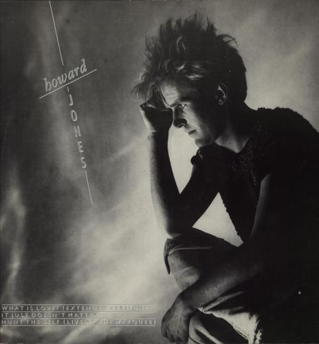 "Howard Jones What Is Love 12"" vinyl single (12 inch record / Maxi-single) UK HOW12WH63101"