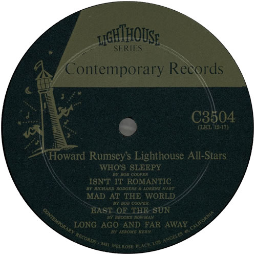 Howard Rumsey Vol.6 vinyl LP album (LP record) US HR4LPVO584503