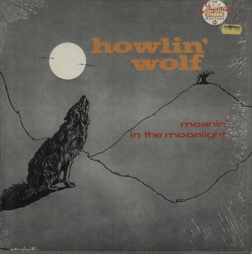 Howlin Wolf Moanin In The Moonlight Italian Vinyl Lp