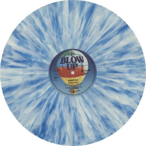 "Hubert Kah Goldene Zeiten - Marble Vinyl 12"" vinyl single (12 inch record / Maxi-single) German HUB12GO654350"