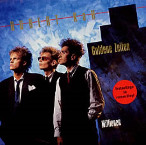 "Hubert Kah Goldene Zeiten 7"" vinyl single (7 inch record) German HUB07GO202885"