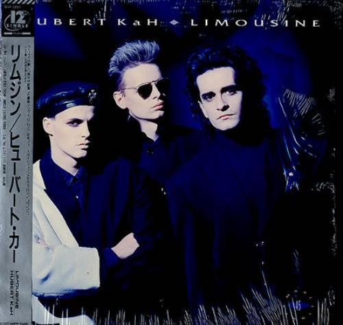 """Hubert Kah Limousine 12"""" vinyl single (12 inch record / Maxi-single) Japanese HUB12LI144806"""