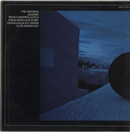 Hubert Laws Afro-Classic vinyl LP album (LP record) UK HLALPAF691223