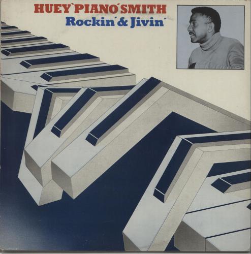 Huey 'Piano' Smith Rockin' & Jivin' vinyl LP album (LP record) UK HUPLPRO668348