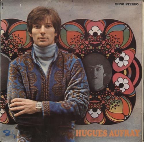 """Hugues Aufray Hugues Aufray 7"""" vinyl single (7 inch record) French AUY07HU720692"""