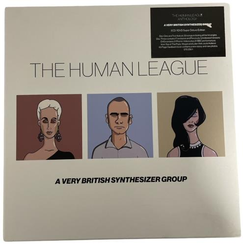 Human League A Very British Synthesizer Group box set UK HUMBXAV753797