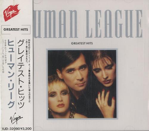 Human League Greatest Hits CD album (CDLP) Japanese HUMCDGR464307