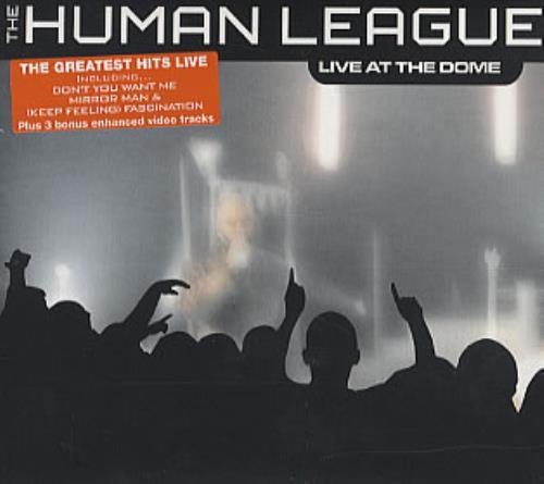 Human League Live At The Dome CD album (CDLP) UK HUMCDLI327734