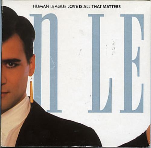 """Human League Love Is All That Matters CD single (CD5 / 5"""") UK HUMC5LO44769"""