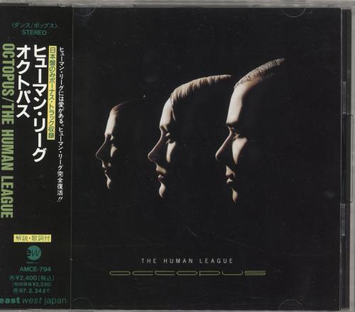 Human League Octopus +1 CD album (CDLP) Japanese HUMCDOC38740