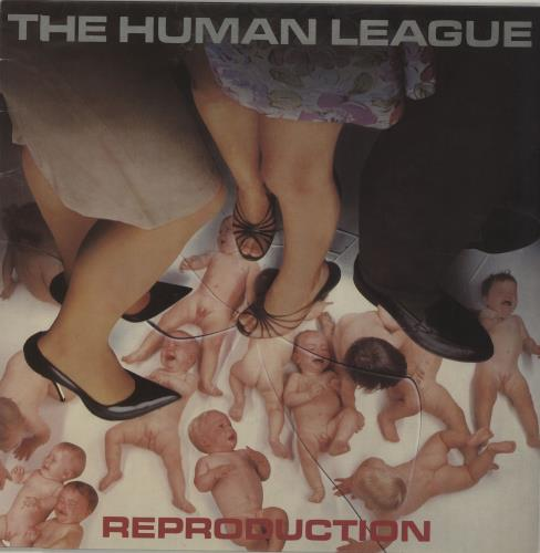Human League Reproduction vinyl LP album (LP record) UK HUMLPRE179635