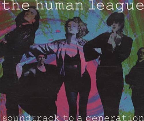 "Human League Soundtrack To A Generation CD single (CD5 / 5"") UK HUMC5SO64225"
