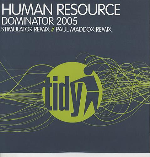 "Human Resource Dominator 2005 12"" vinyl single (12 inch record / Maxi-single) UK HU112DO339509"