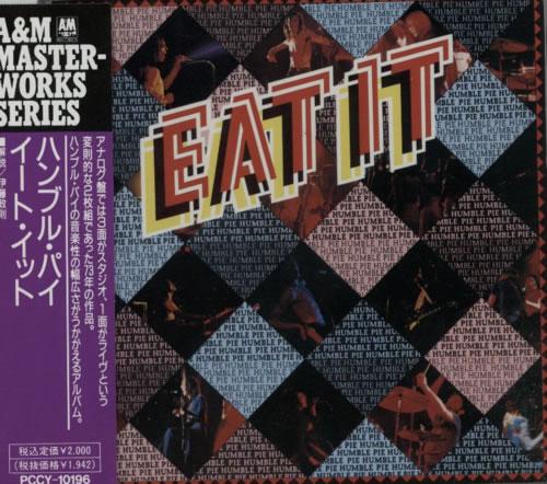 Humble Pie Eat It CD album (CDLP) Japanese HMBCDEA614690