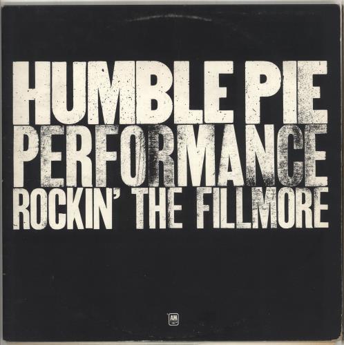 Humble Pie Performance: Rockin' The Fillmore - 1st - EX 2-LP vinyl record set (Double Album) UK HMB2LPE714153