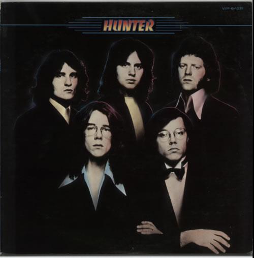 Hunter Hunter vinyl LP album (LP record) Japanese HNTLPHU620001