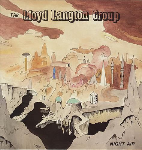 Huw Lloyd-Langton Night Air vinyl LP album (LP record) UK HWLLPNI390882