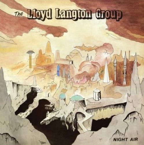 Huw Lloyd-Langton Night Air CD album (CDLP) UK HWLCDNI509403