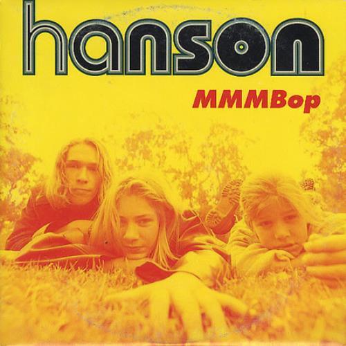 "Hanson Mmmbop CD single (CD5 / 5"") Mexican HSOC5MM94954"