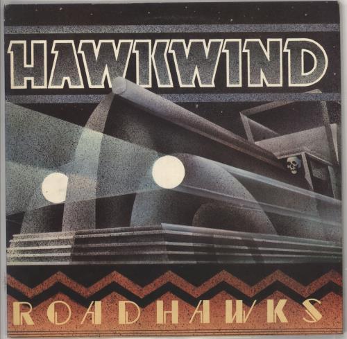Hawkwind Roadhawks Poster Uk Vinyl Lp Album Lp Record