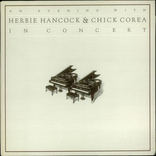 Herbie Hancock An Evening With Herbie Hancock & Chick Corea In Concert 2-LP vinyl record set (Double Album) Dutch HHA2LAN541036